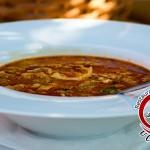 Dršťková polévka v Restauraci na Vyhlídce